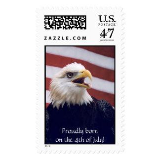 Eagle & Flag Postage