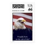 Eagle & Flag Stamps