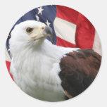 Eagle &  Flag Stickers