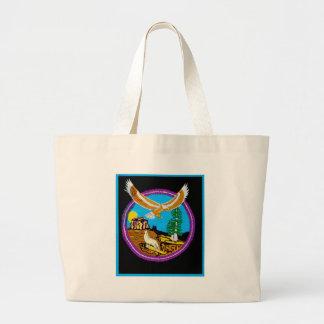 Eagle Flight Tote Bags
