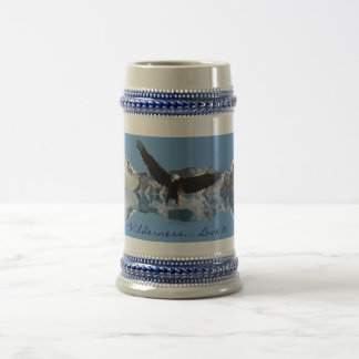 EAGLE FLIGHT Bald Eagle Wildlife Drinking Stein