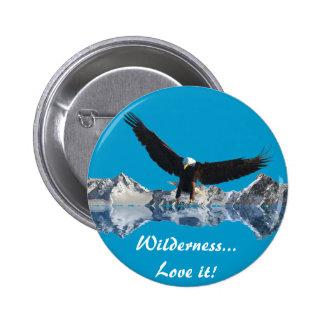 EAGLE FLIGHT Collection Pinback Button