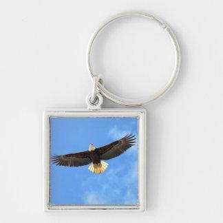 Eagle Flying Key Chain