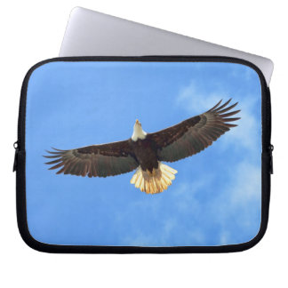 Eagle Flying Computer Sleeves