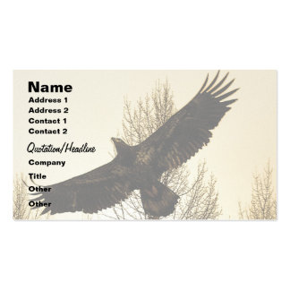 EAGLE & FOREST Business or Profile Card Business Card