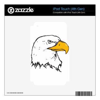 Eagle Freedom Flight Bird Animals Nature Destiny iPod Touch 4G Decals