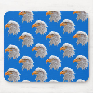 Eagle Frenzy Mousemat (Blue) Mouse Pad