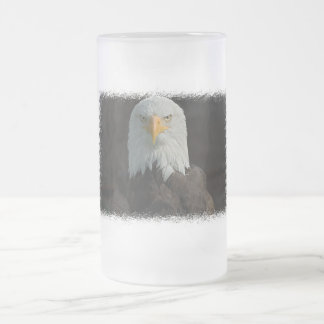 Eagle Frosted Beer Mug