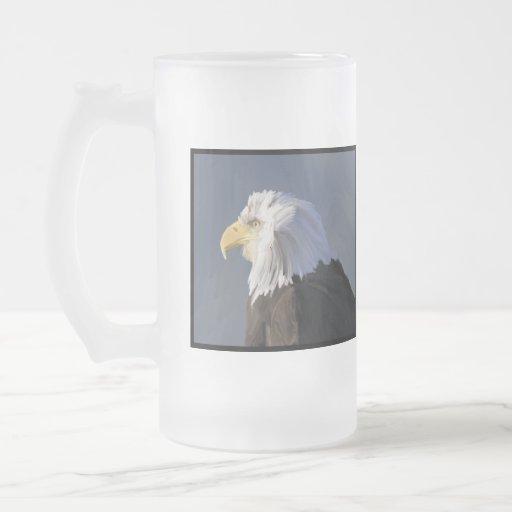 Eagle Frosted Mug