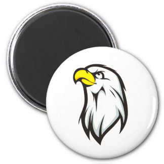 Eagle fuerte imán redondo 5 cm
