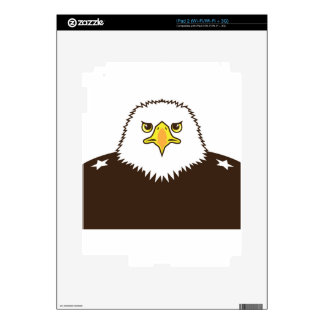 Eagle General Decal For iPad 2