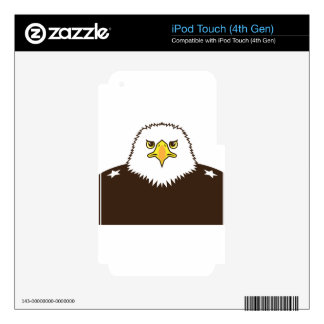 Eagle General Decals For iPod Touch 4G