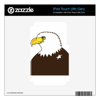 Eagle General Profile iPod Touch 4G Skin