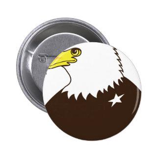 Eagle General Profile Pinback Button