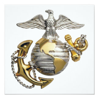Eagle Globe Anchor Card