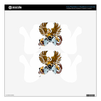 Eagle Globe Anchor Icon Skins For PS3 Controllers