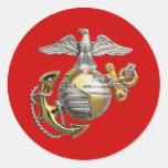 Eagle Globe and Anchor Sticker