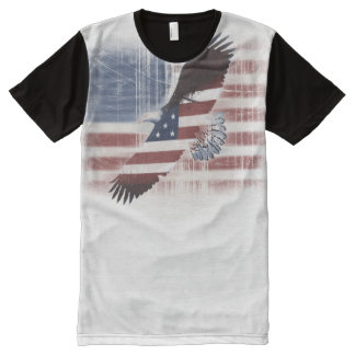 eagle glory All-Over print t-shirt