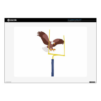 "eagle goal post decal for 15"" laptop"