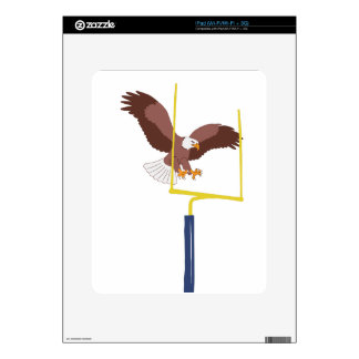 eagle goal post decals for iPad