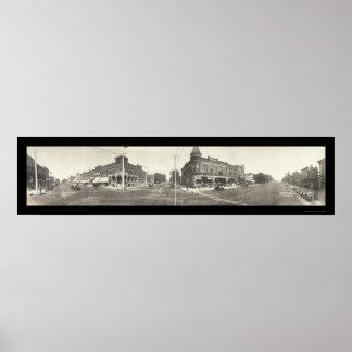 Eagle Grove IA Photo 1907 Poster