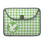 Eagle; Guinga verde Funda Macbook Pro
