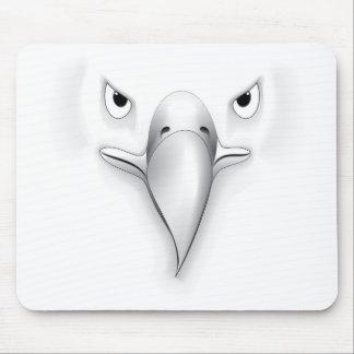 Eagle hace frente a la silueta tapete de raton