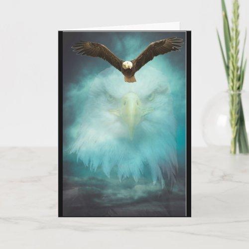 Eagle Happy Birthday Son Card