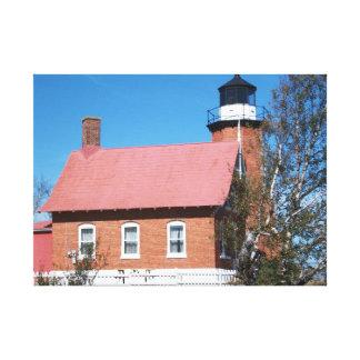 Eagle Harbor Lighthouse Canvas Print