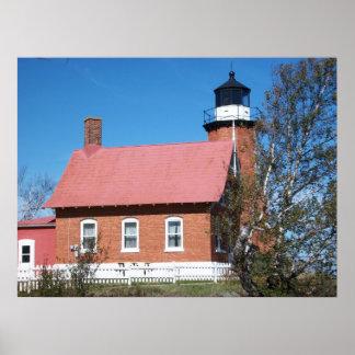 Eagle Harbor Lighthouse Photo Poster
