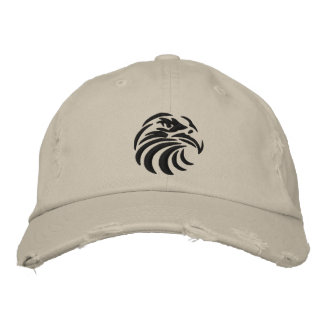 Eagle hat embroidered baseball cap