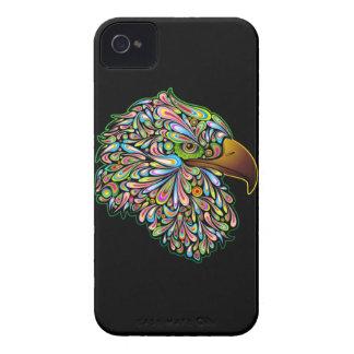 Eagle Hawk Psychedelic Design BlackBerry Cases