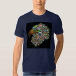 Eagle Hawk Psychedelic Design  T-Shirt