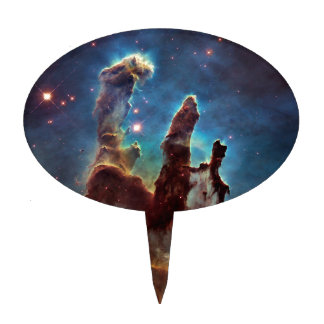 Eagle HDR Pillars of Creation Cake Toppers