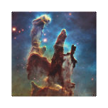 Eagle HDR Pillars of Creation Canvas Print