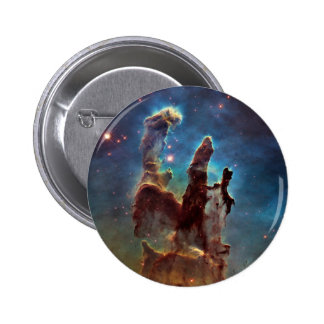 Eagle HDR Pillars of Creation Pinback Button