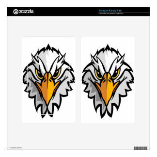 eagle head2 kindle fire skin