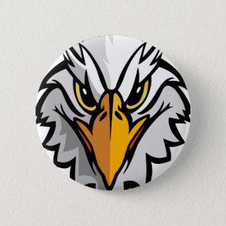 eagle head2 pinback button