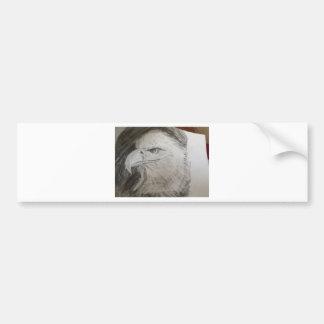 Eagle Head Bumper Sticker
