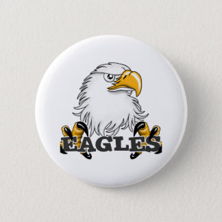 Eagle Head Claw Button