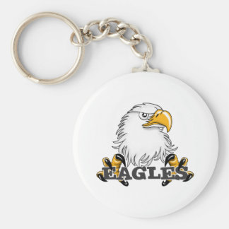 Eagle Head Claw Keychain