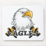Eagle Head Claw Mouse Pad
