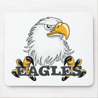 Eagle Head Claw Mouse Pad