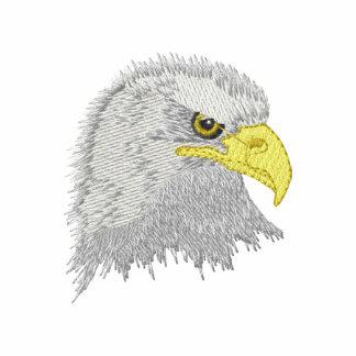 Eagle Head Embroidered Track Jacket