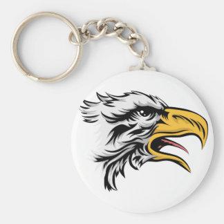 Eagle head keychains