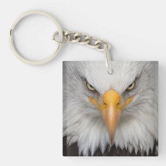 Eagle Head Keychain