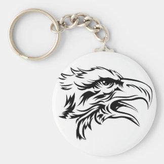 Eagle head key chains