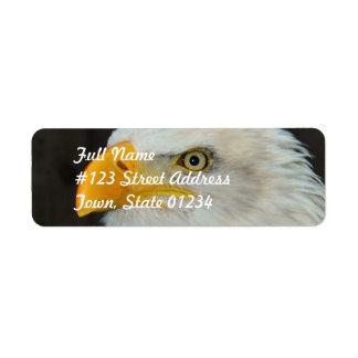 Eagle Head Mailing Label
