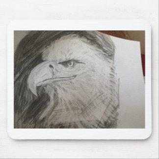 Eagle Head Mouse Pad