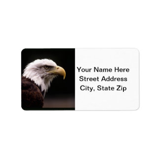 Eagle Head Study Address Label